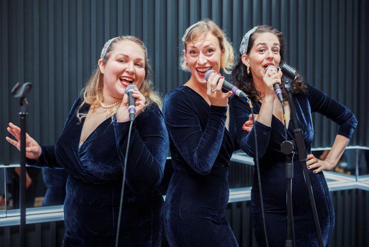 Three singers