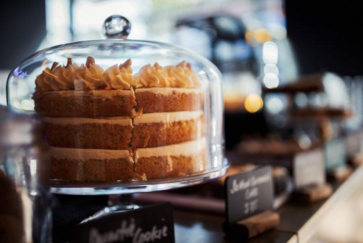A large tasty cake