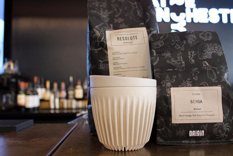 Selection of Origin coffee