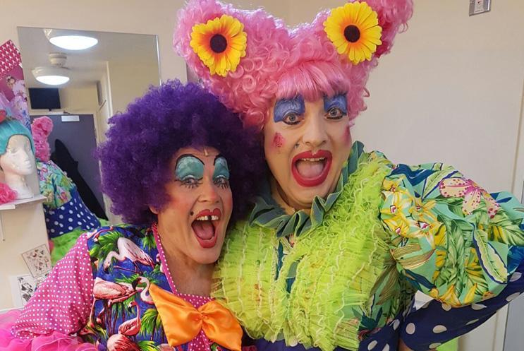Panto Dame as Ugly Sister